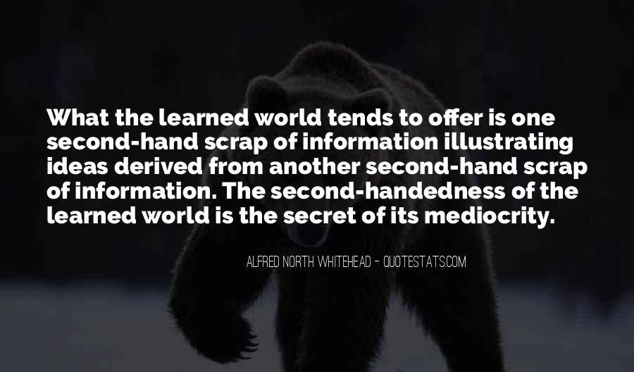 Quotes About The Secret #5064