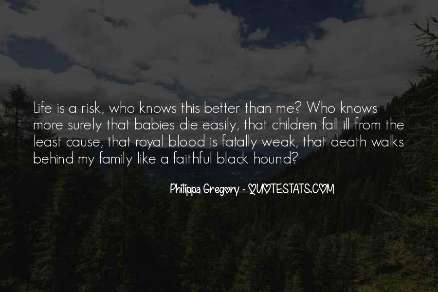 Quotes About Family Blood Or Not #264276