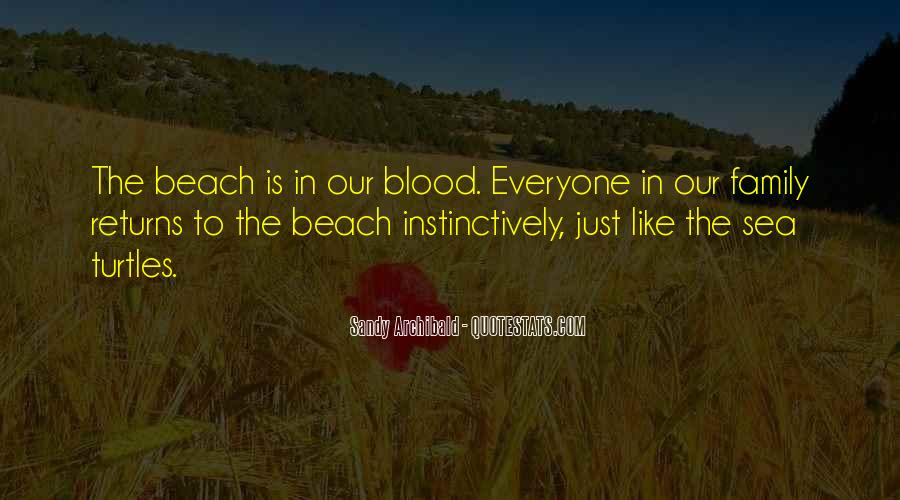 Quotes About Family Blood Or Not #356631