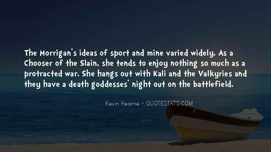 Quotes About Valkyries #1516984
