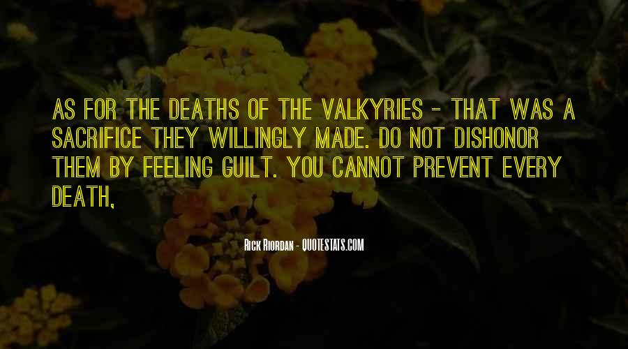 Quotes About Valkyries #679405