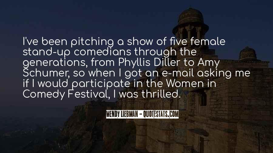 Quotes About Comedy By Comedians #917455