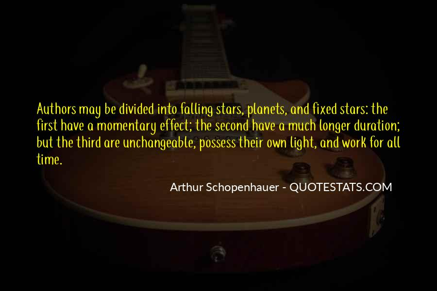 Quotes About Falling Stars #105236