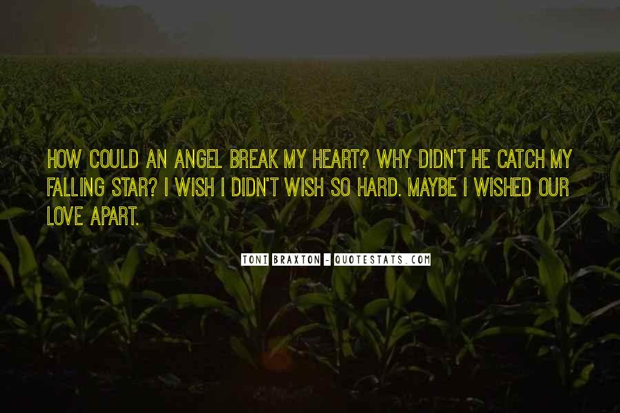 Quotes About Falling Stars #1227062