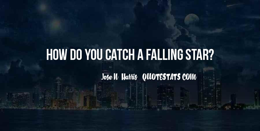 Quotes About Falling Stars #1274611