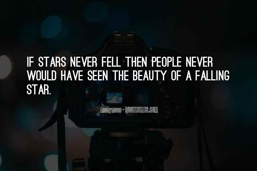 Quotes About Falling Stars #1327673