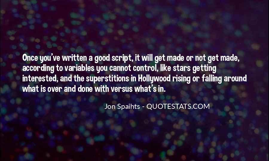 Quotes About Falling Stars #1433863