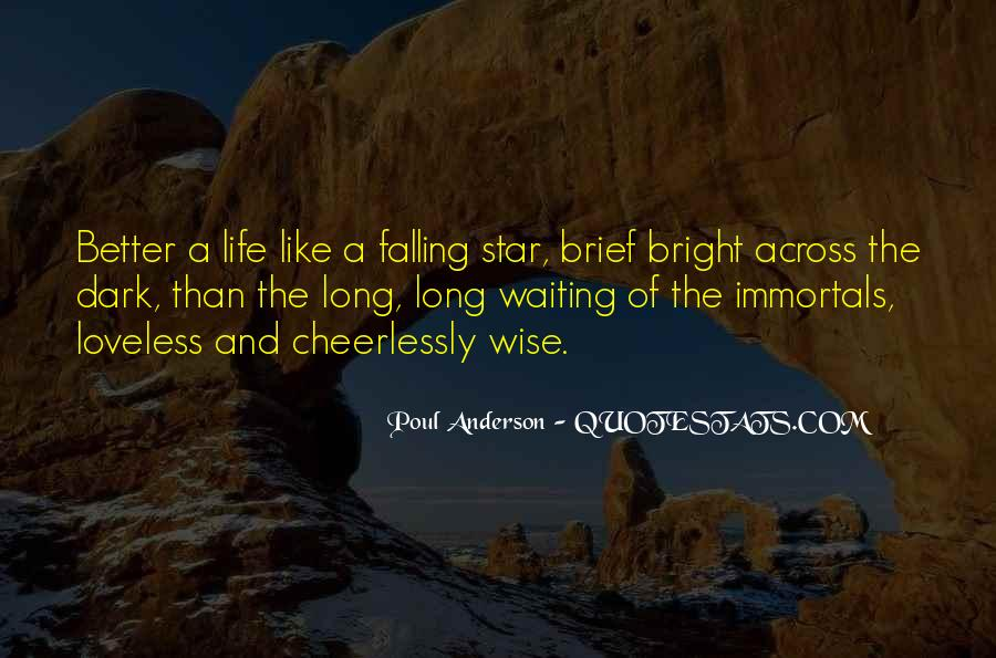 Quotes About Falling Stars #1868968