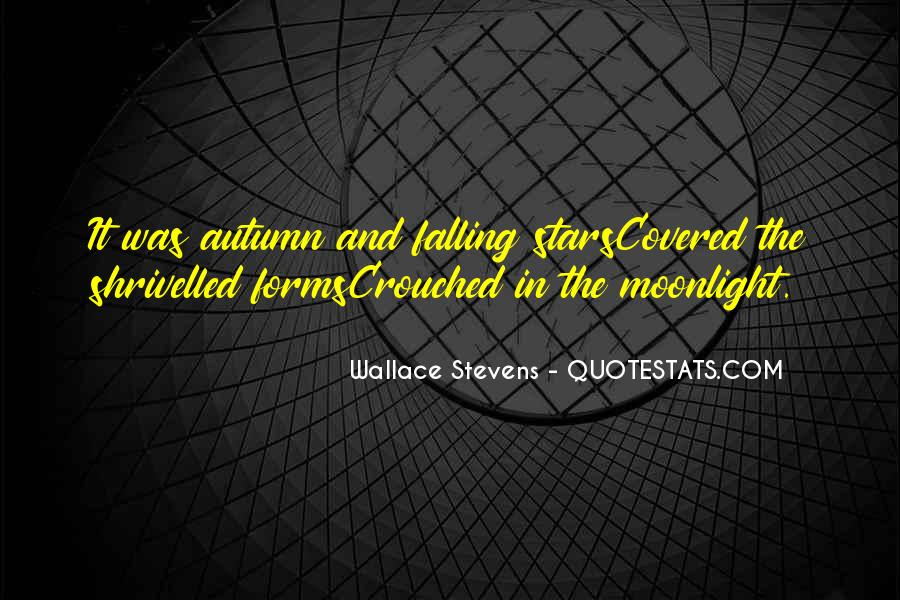 Quotes About Falling Stars #1878912