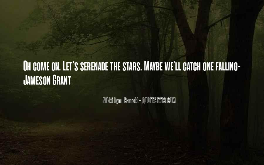 Quotes About Falling Stars #480177