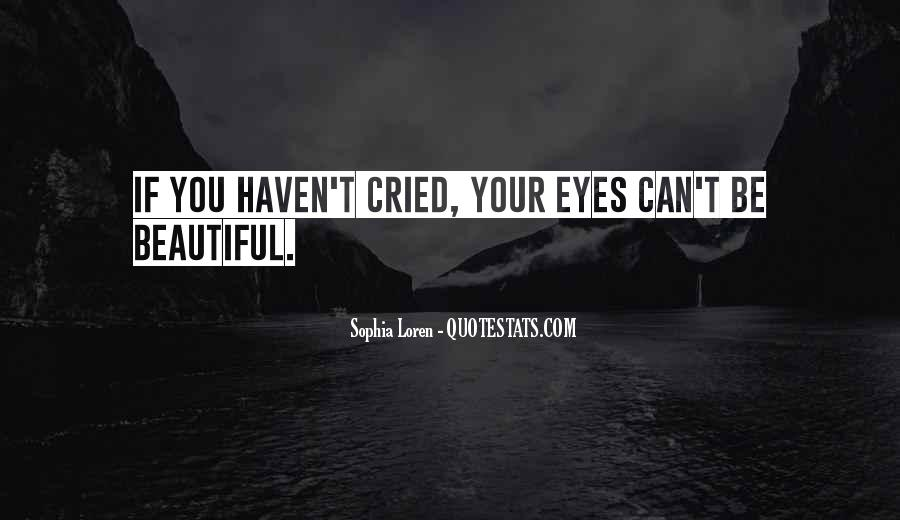 Quotes About Beautiful Eyes #294304