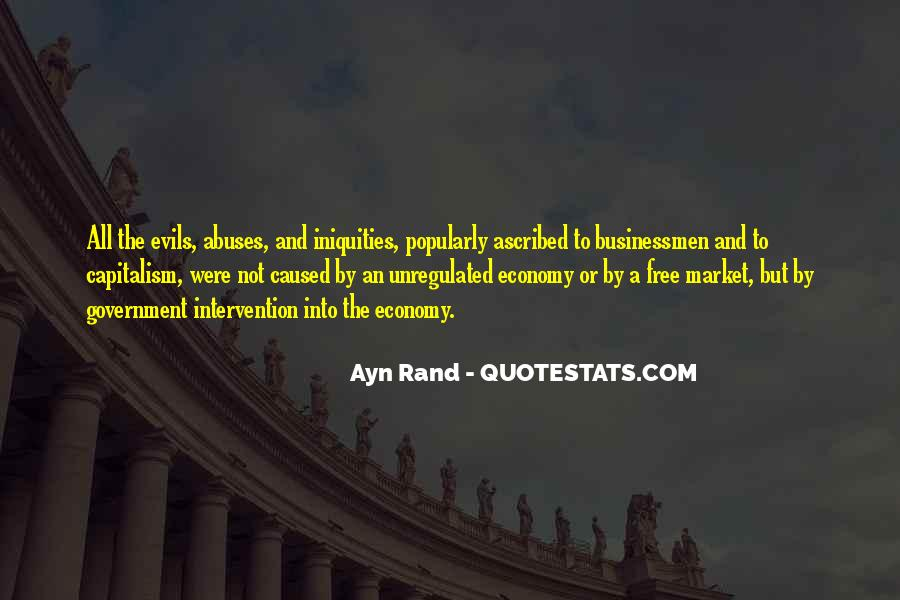 Quotes About Free Market Capitalism #1215851