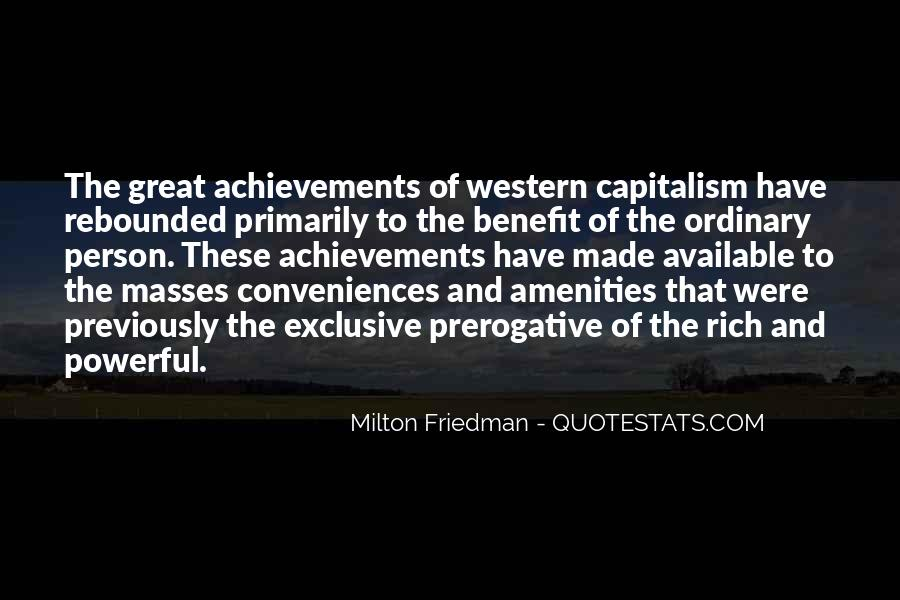 Quotes About Free Market Capitalism #1216528
