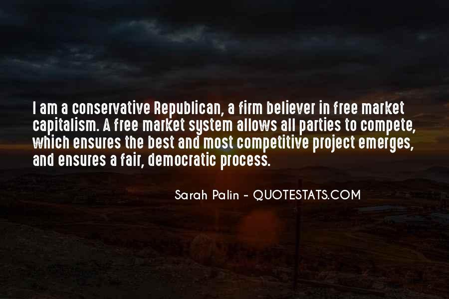 Quotes About Free Market Capitalism #1319560