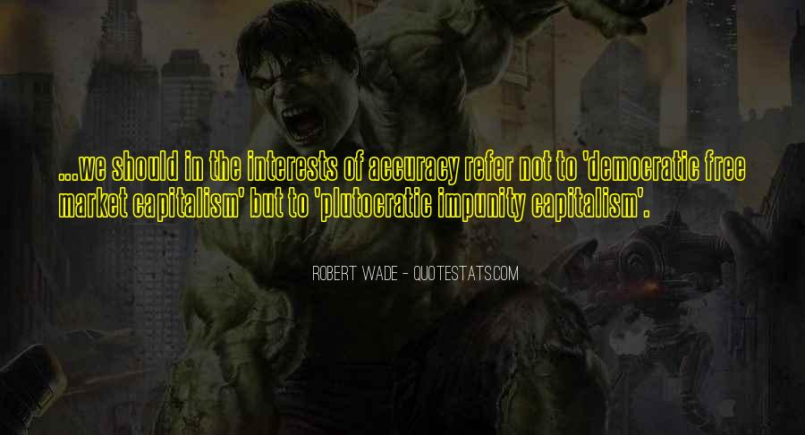 Quotes About Free Market Capitalism #1352657