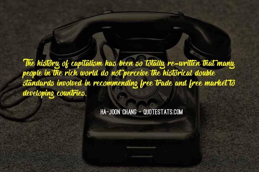 Quotes About Free Market Capitalism #1354803