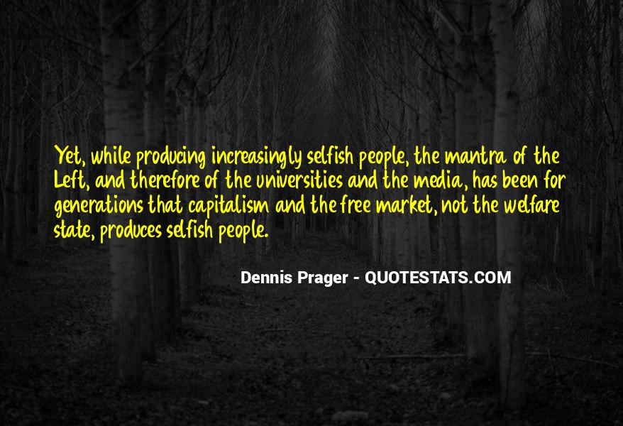 Quotes About Free Market Capitalism #1417199