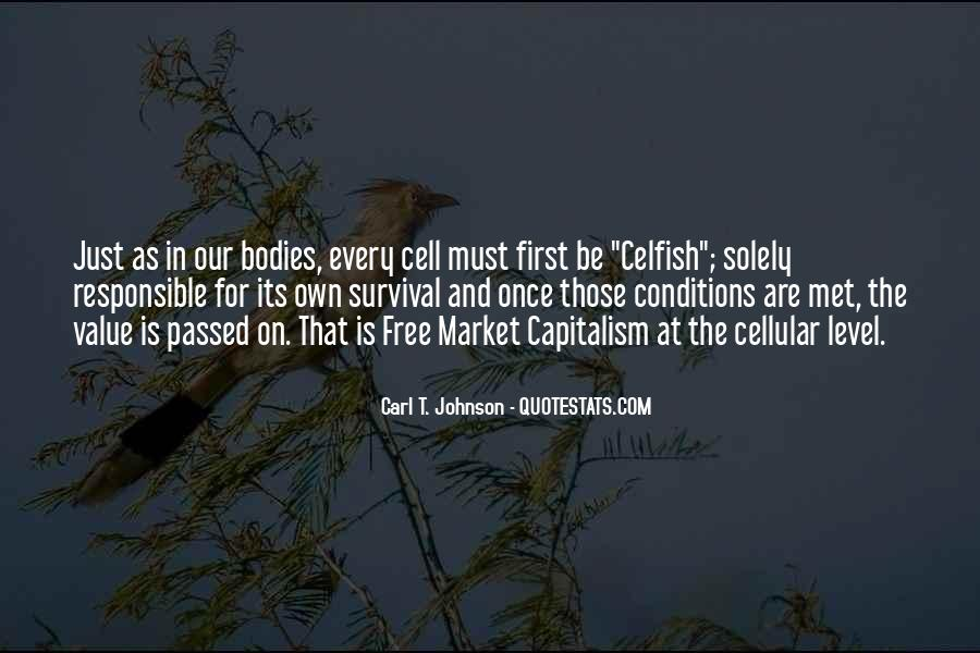 Quotes About Free Market Capitalism #1454668