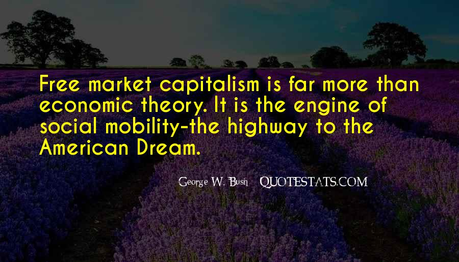 Quotes About Free Market Capitalism #1511685