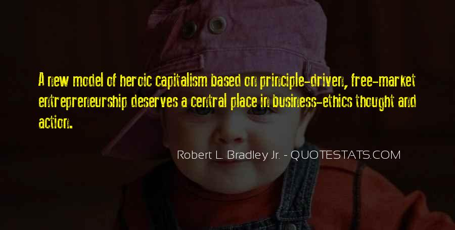 Quotes About Free Market Capitalism #1542087
