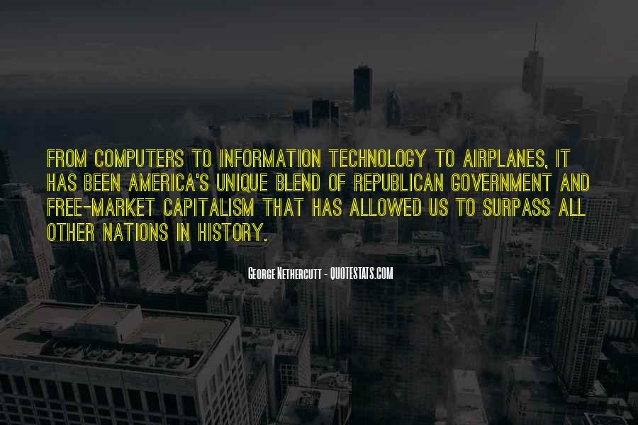 Quotes About Free Market Capitalism #1658181