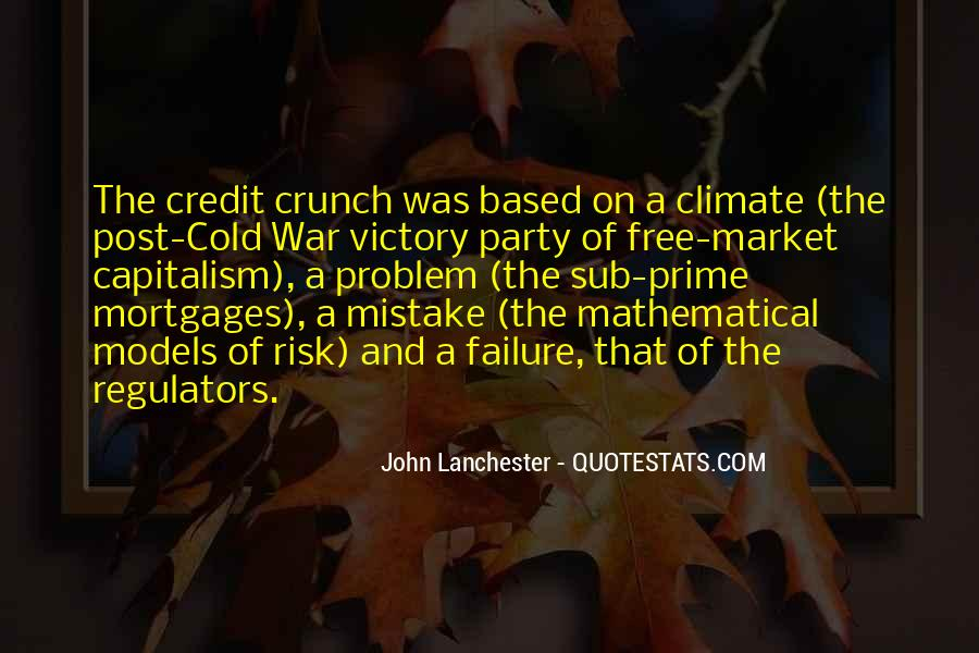Quotes About Free Market Capitalism #1669887