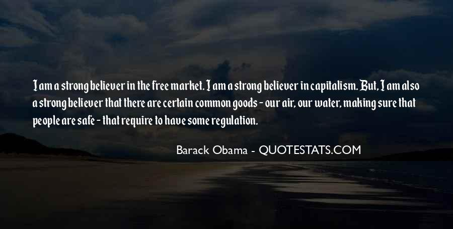 Quotes About Free Market Capitalism #172324