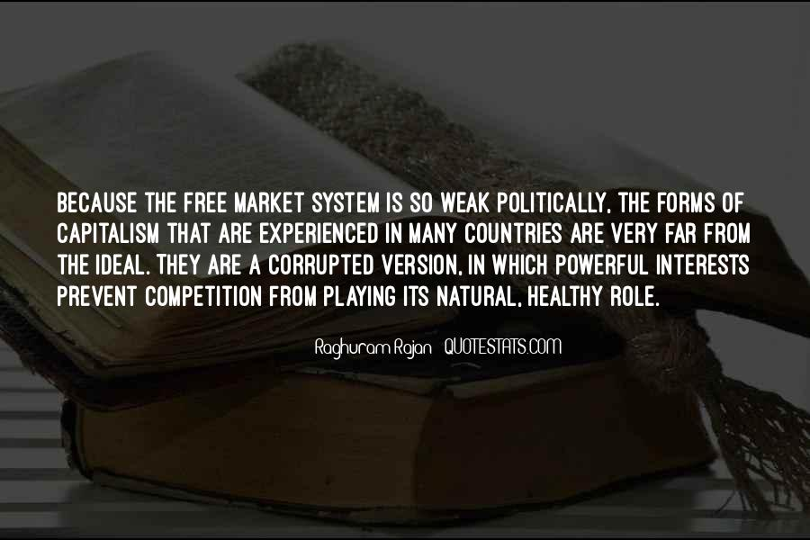 Quotes About Free Market Capitalism #311368