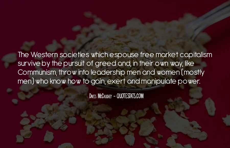 Quotes About Free Market Capitalism #332392