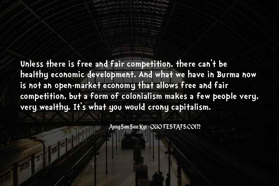 Quotes About Free Market Capitalism #341266