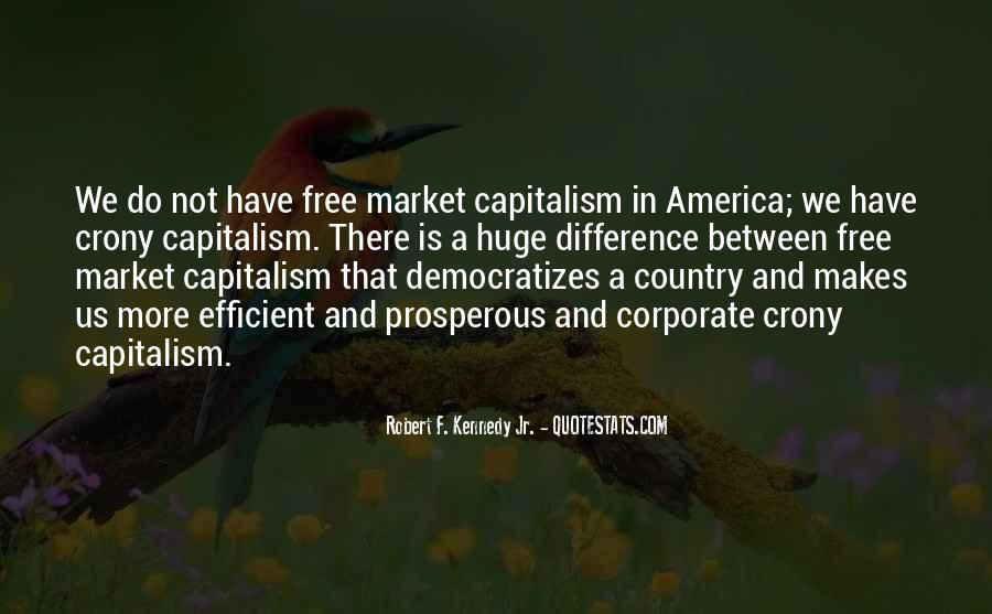 Quotes About Free Market Capitalism #505154