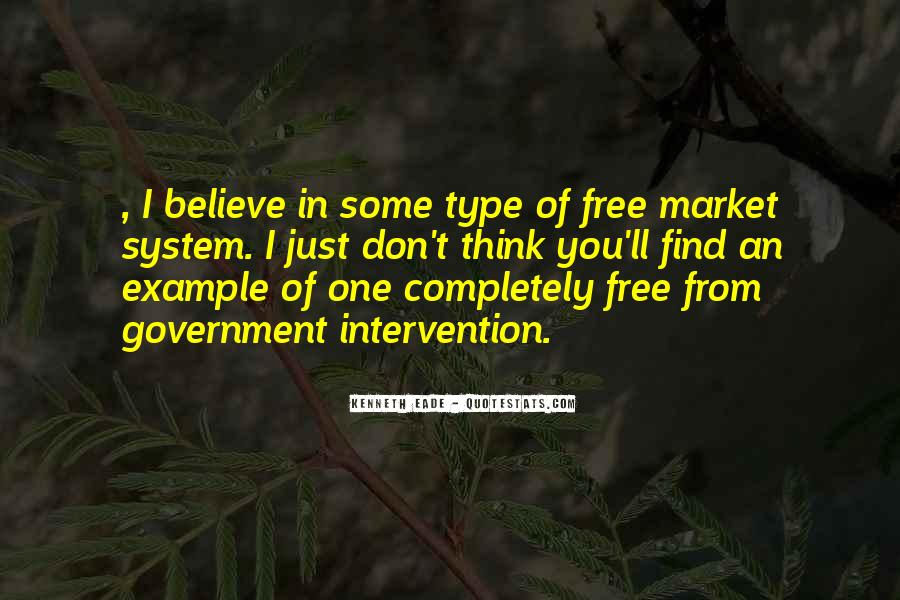 Quotes About Free Market Capitalism #61703