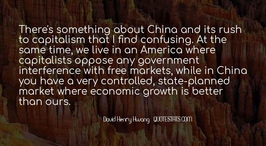 Quotes About Free Market Capitalism #703944