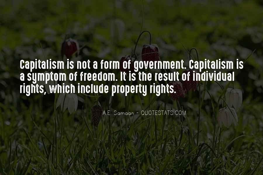Quotes About Free Market Capitalism #71088