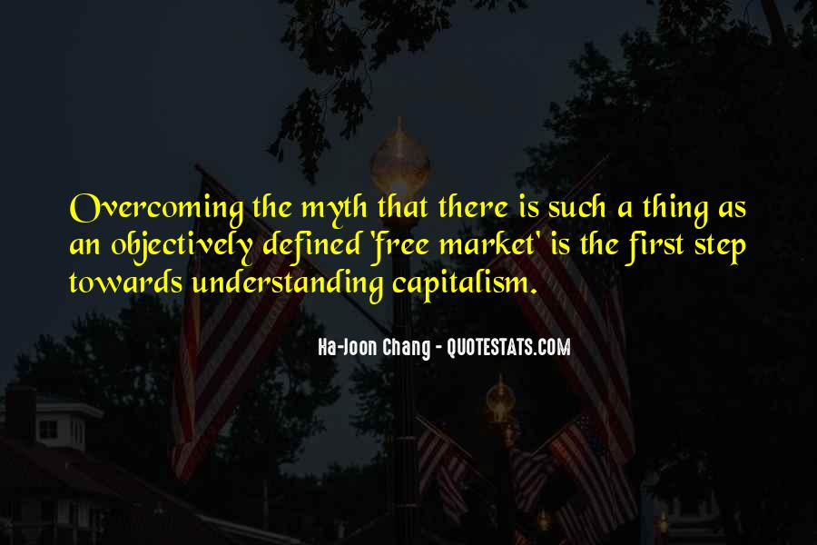 Quotes About Free Market Capitalism #759011