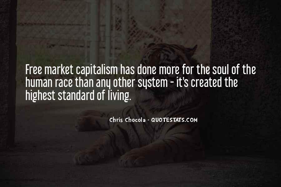 Quotes About Free Market Capitalism #985656