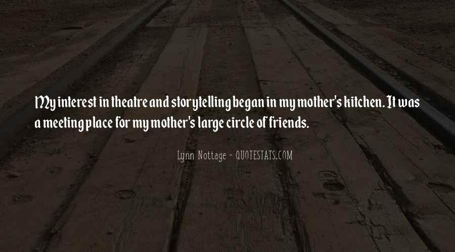 Quotes About Theatre Friends #1184824