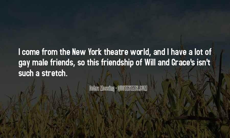 Quotes About Theatre Friends #879124
