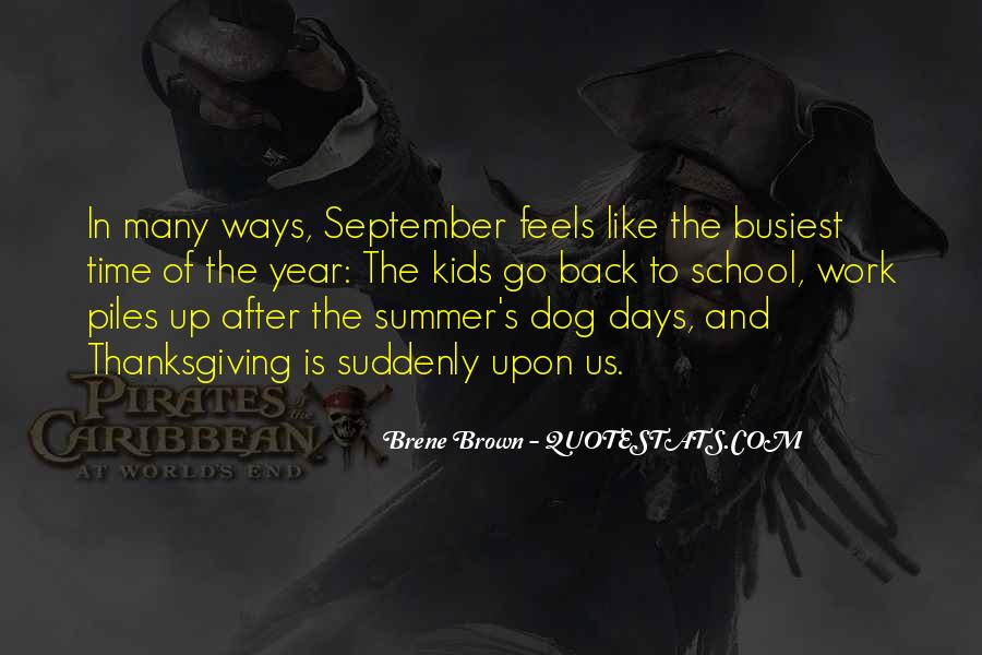 Quotes About Dog Days Of Summer #1220491