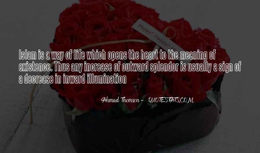 Quotes About Life Of Islam #1115230
