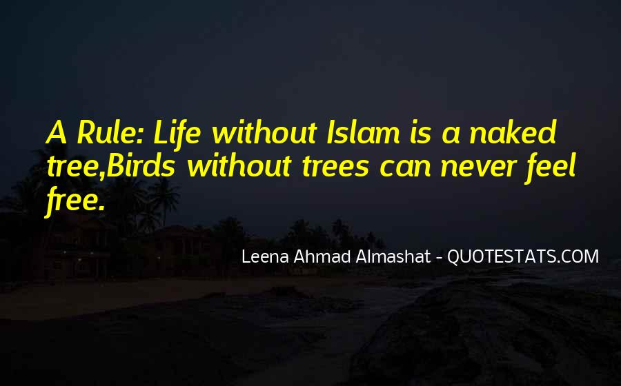Quotes About Life Of Islam #1620577