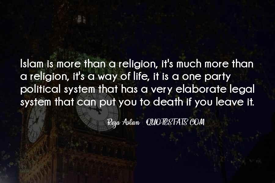 Quotes About Life Of Islam #291560
