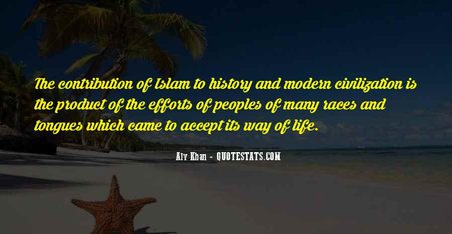 Quotes About Life Of Islam #371017