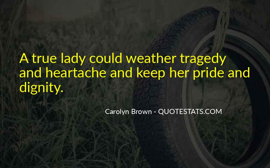 Quotes About True Lady #1862361