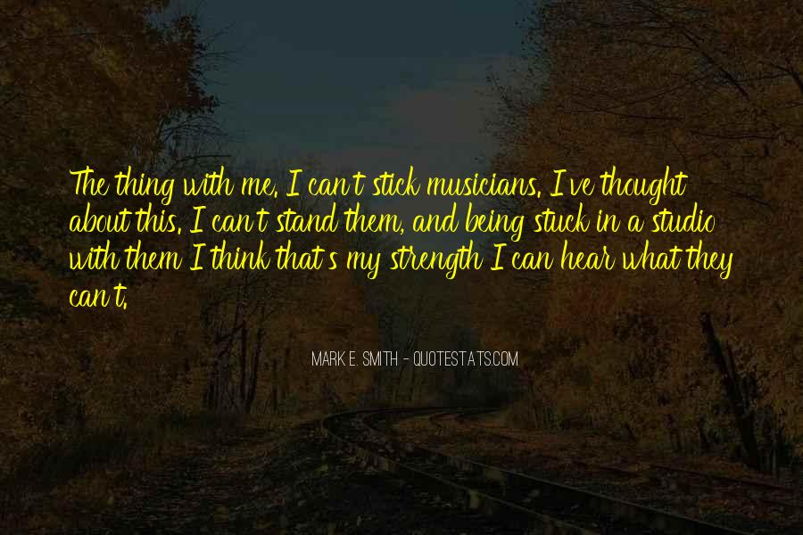 Quotes About Being Stuck On Yourself #397320