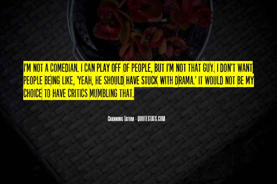 Quotes About Being Stuck On Yourself #82704