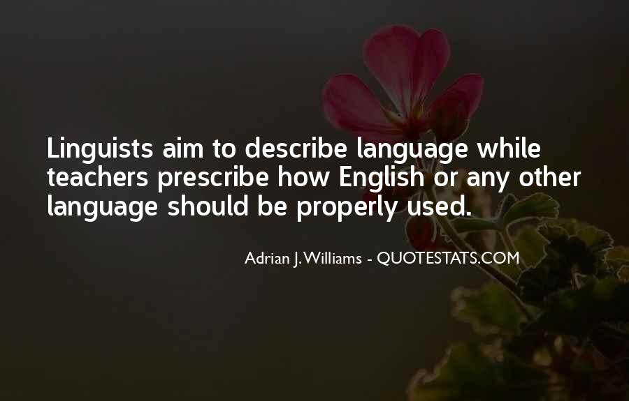 Quotes About English Language Teachers #1085411