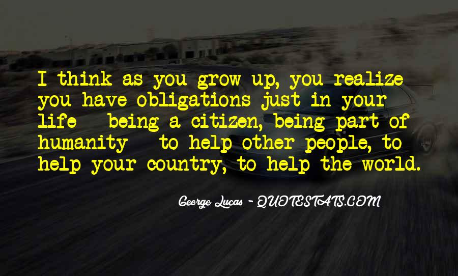 Quotes About Humanity And Helping Others #210232