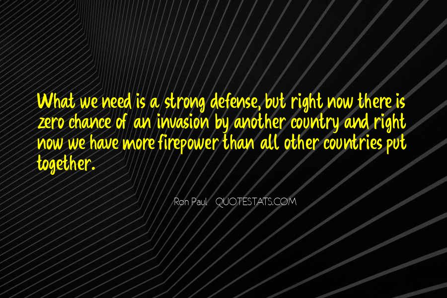 Quotes About Strong Countries #1228952