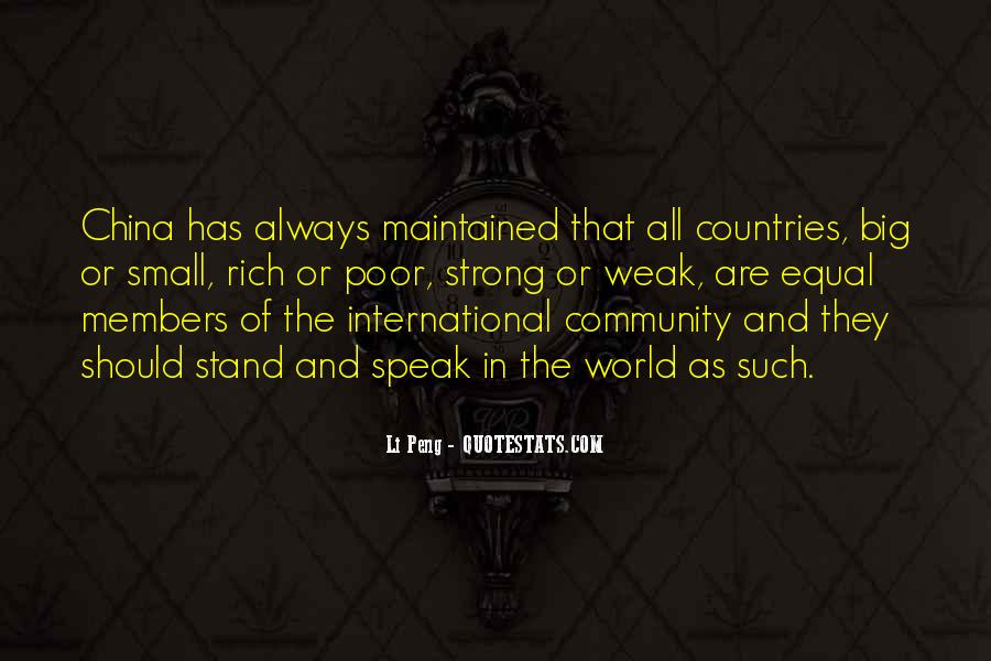 Quotes About Strong Countries #1657928
